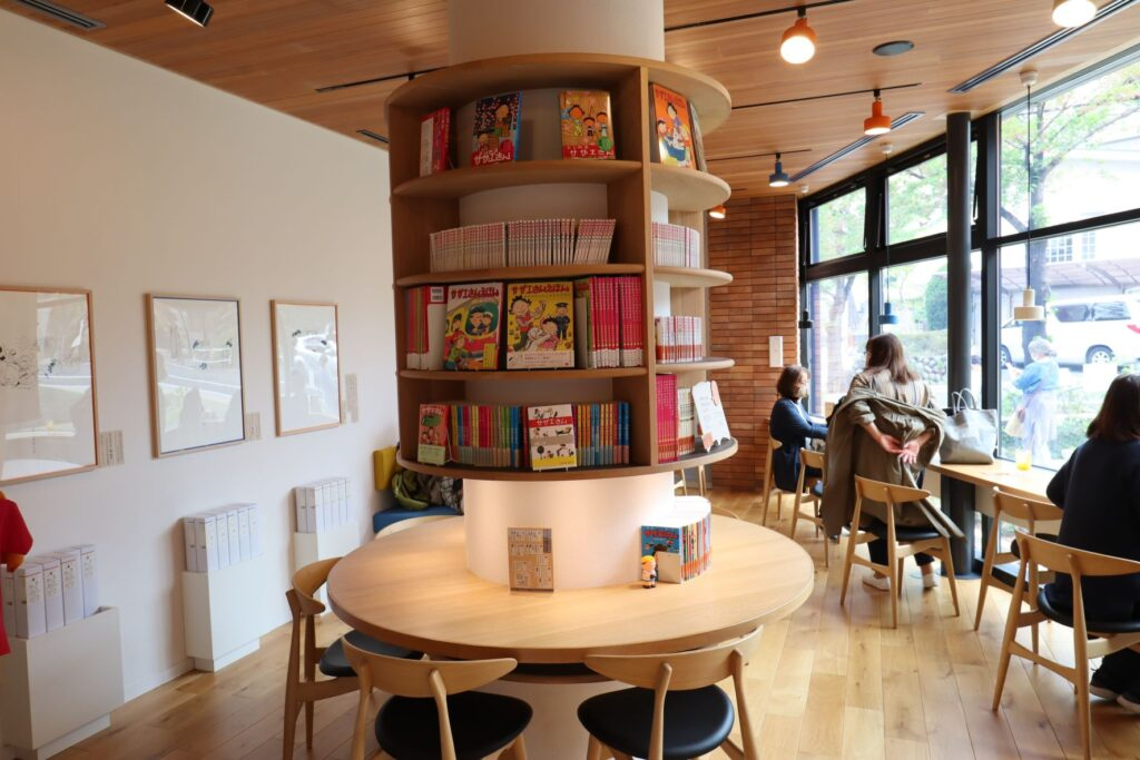 長谷川町子記念館の喫茶部