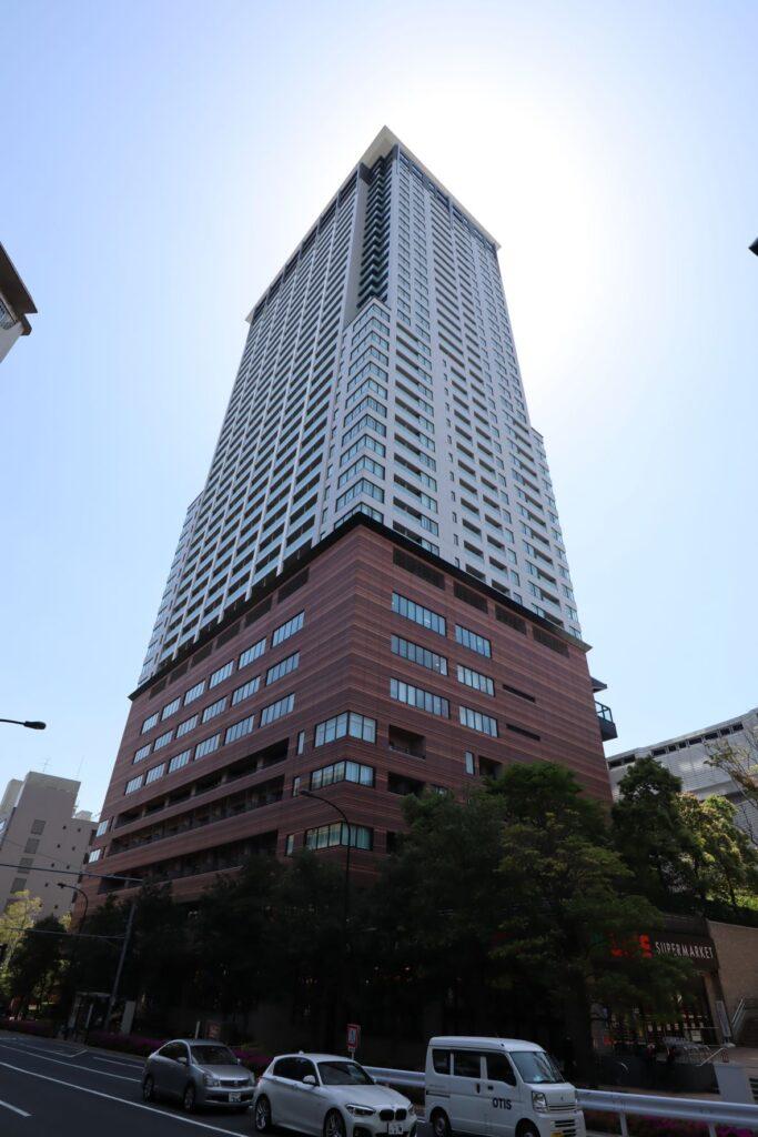 目黒天空庭園に隣接しているクロスエアタワー