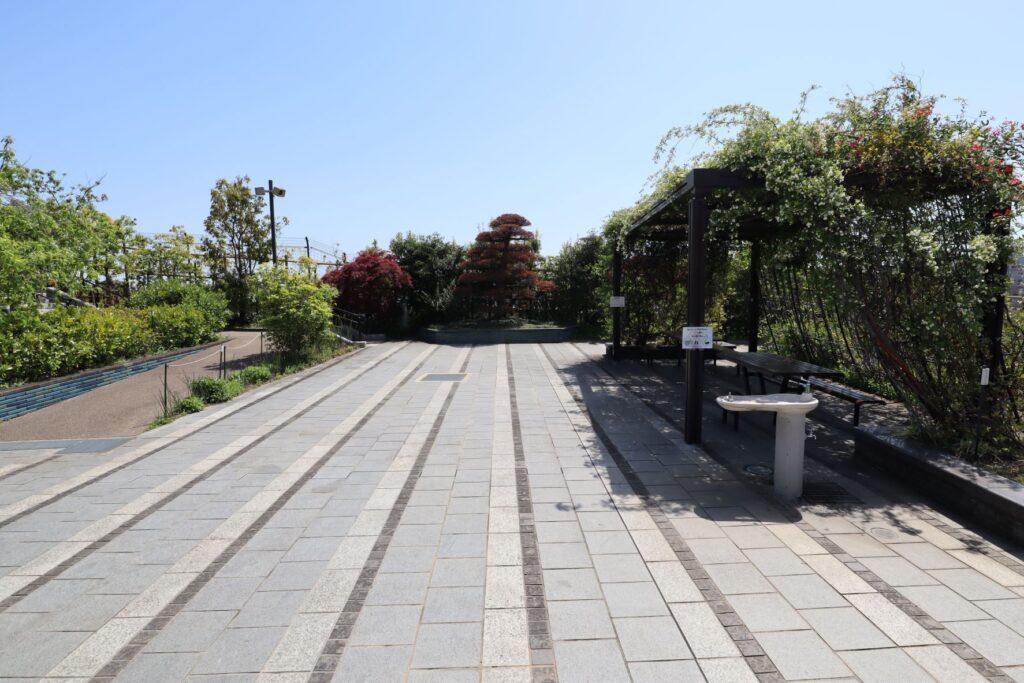 目黒天空庭園のくつろぎ広場