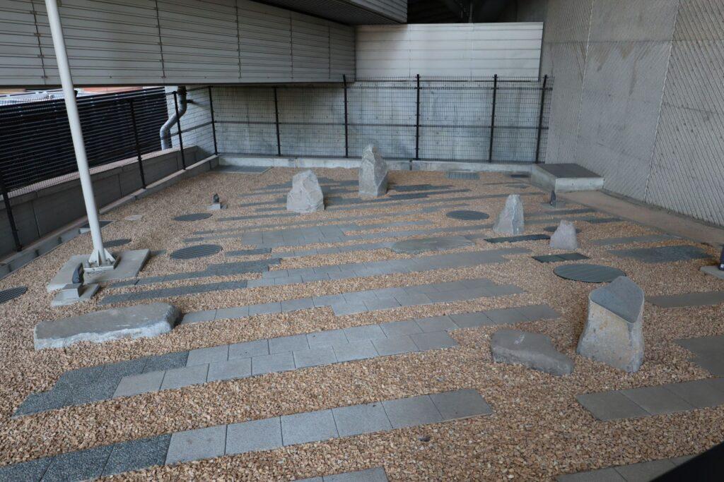 目黒天空庭園の奥の庭ゾーン