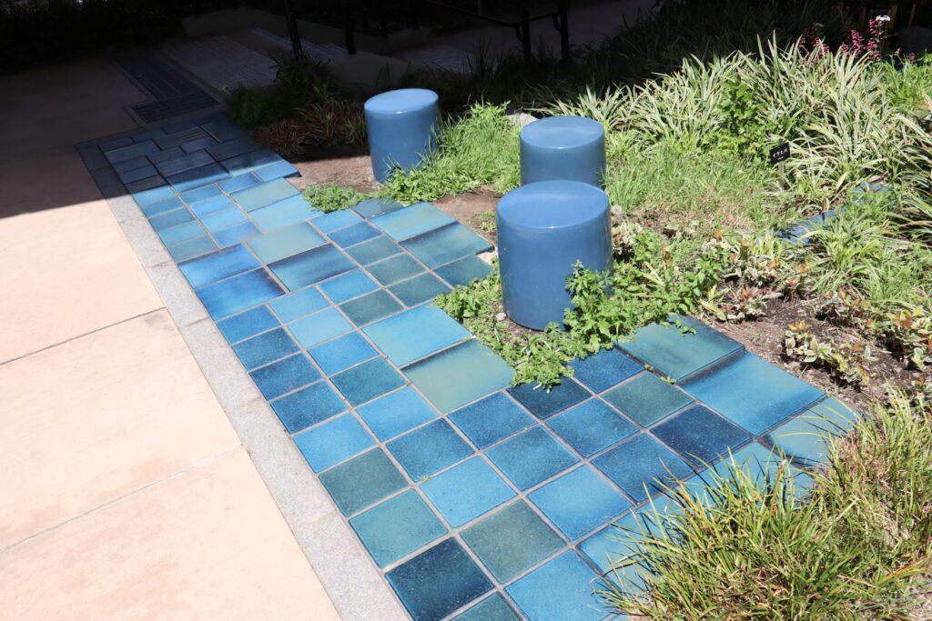 目黒天空庭園のアプローチ空間