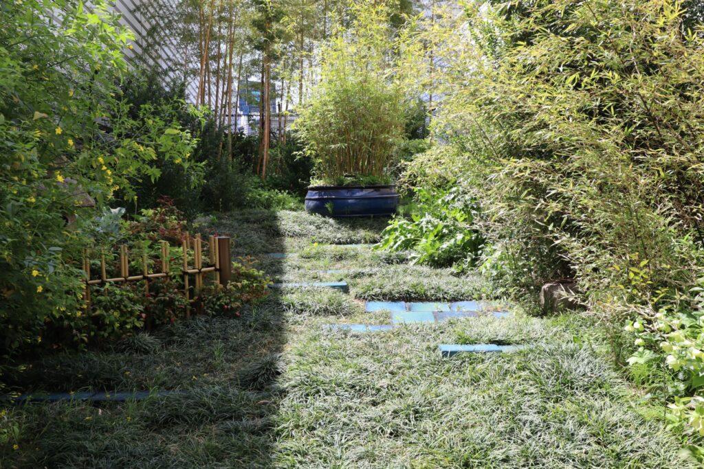 目黒天空庭園のもてなしの庭
