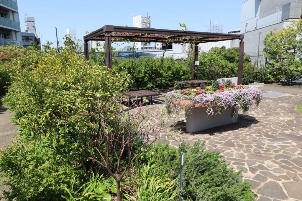 目黒天空庭園のコミュニティスペース