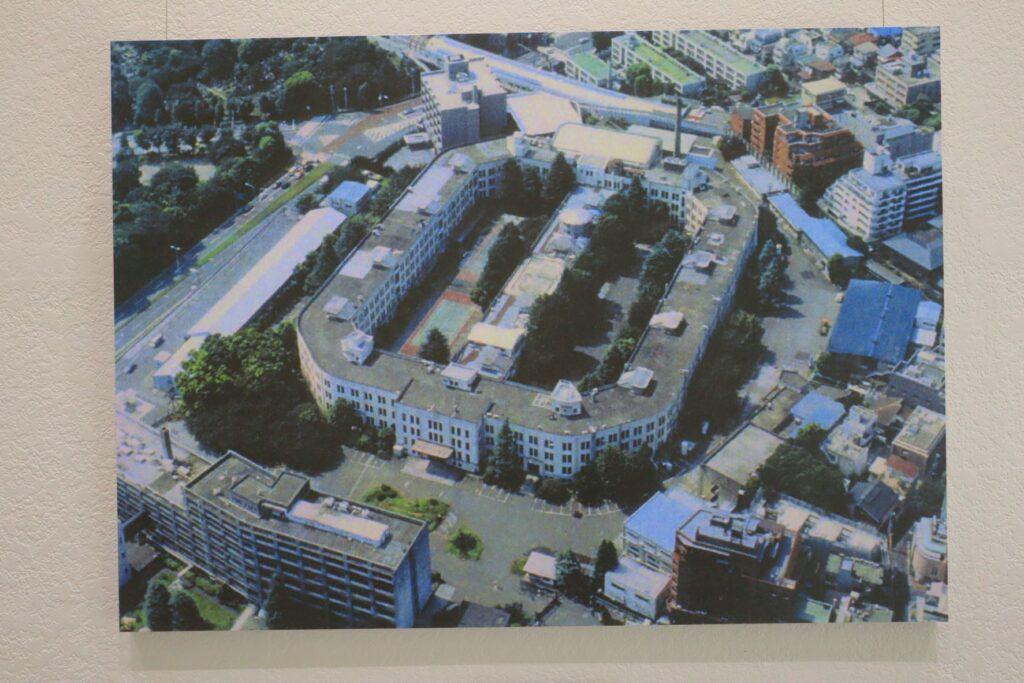 歩兵第三連隊兵舎の上空写真