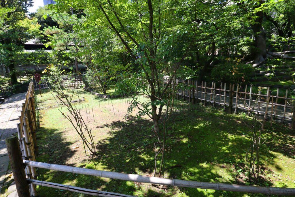 旧乃木邸の庭園