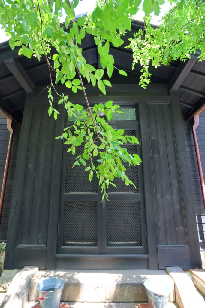 旧乃木邸入口
