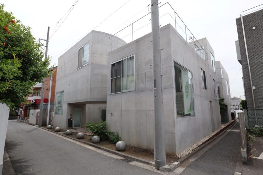 大倉山集合住宅の外観