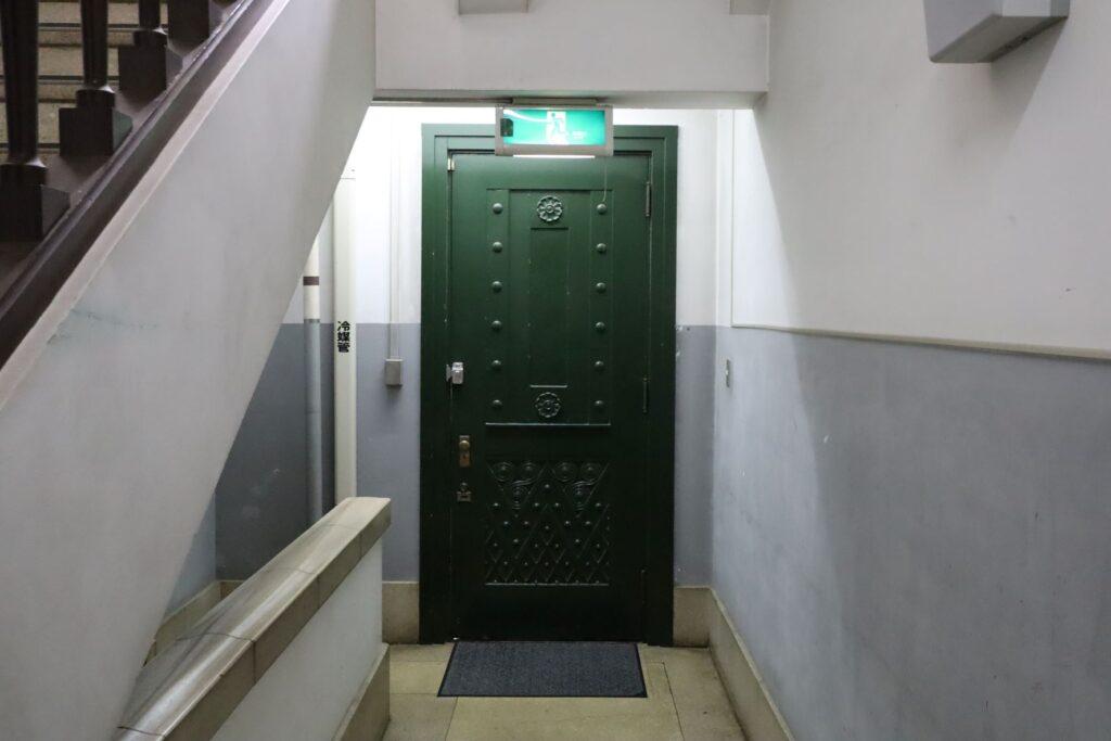 大倉山記念館にある扉