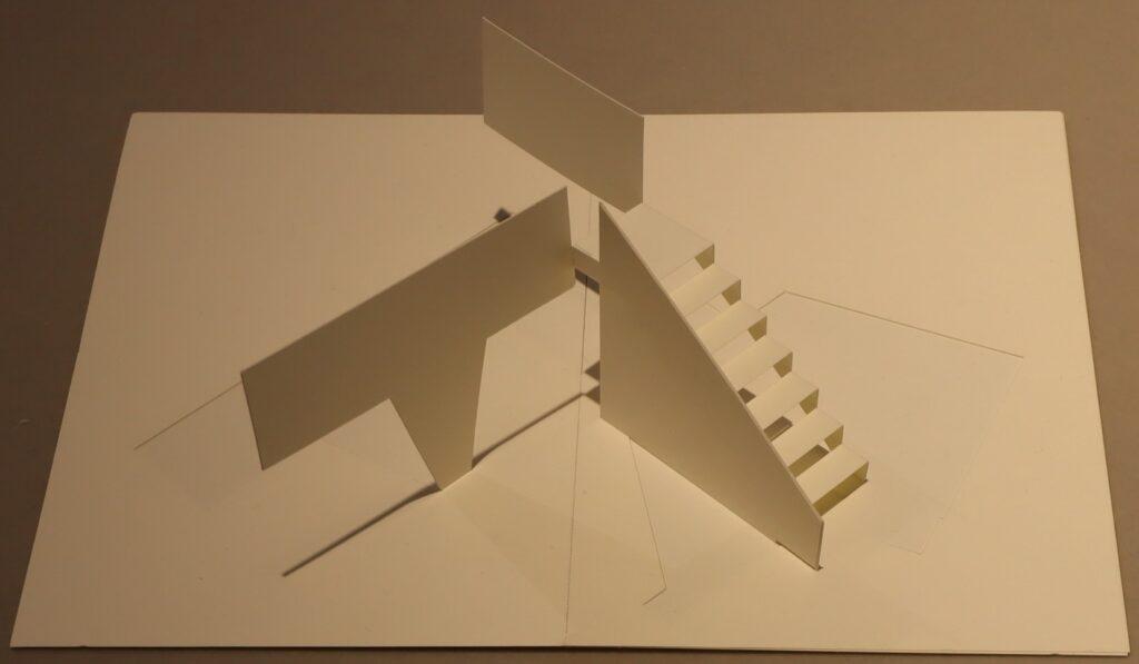 オリガミ・アーキテクチャーの国立西洋美術館