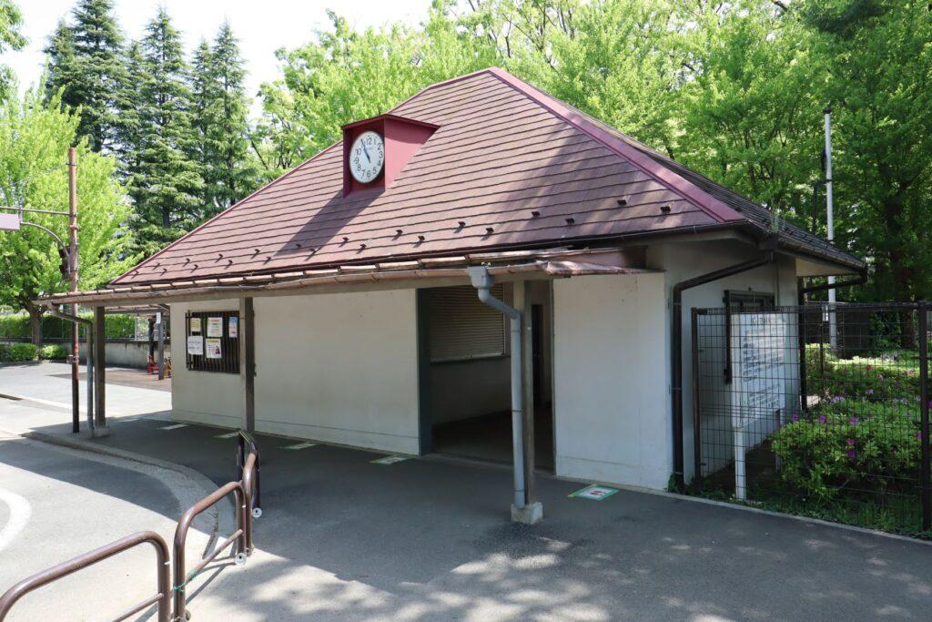 世田谷公園のSL駅