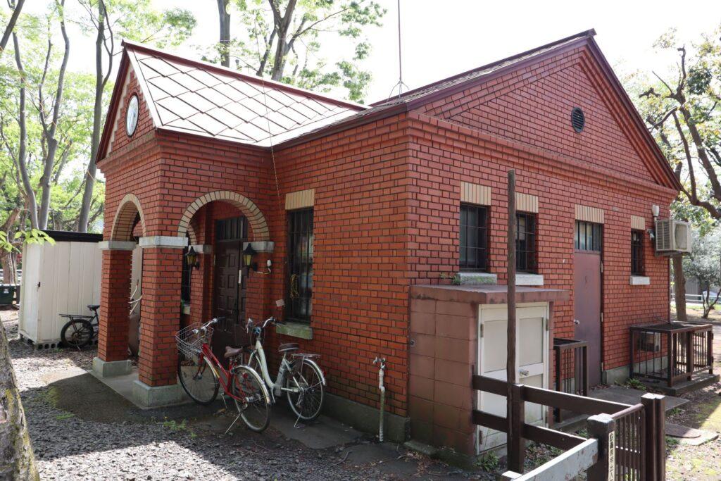 世田谷公園のミニSL駅
