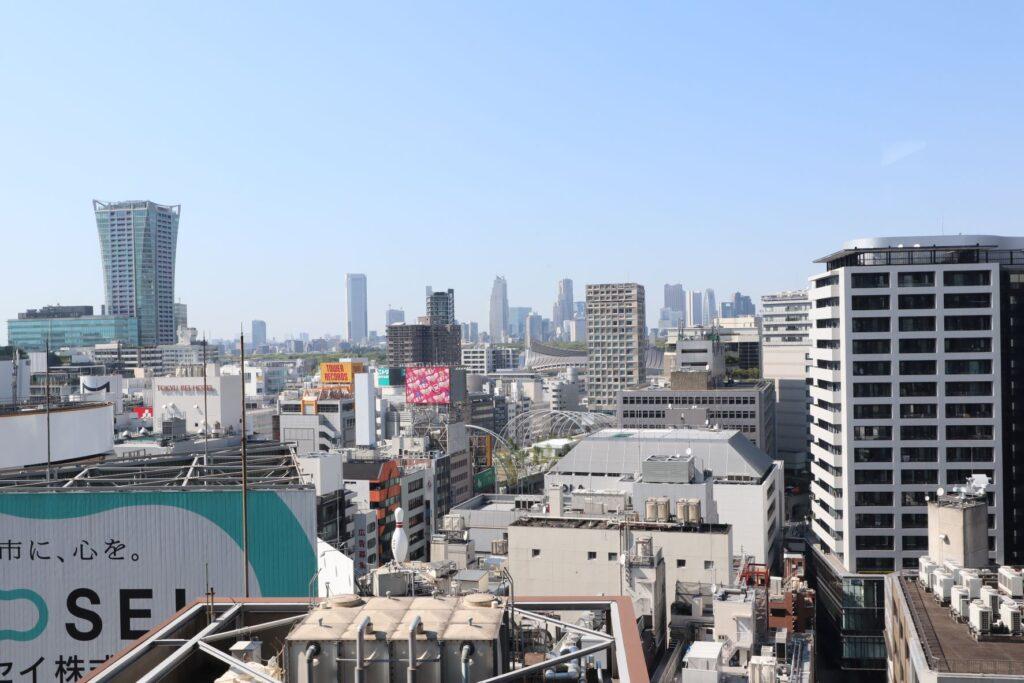 渋谷ヒカリエのスカイロビー