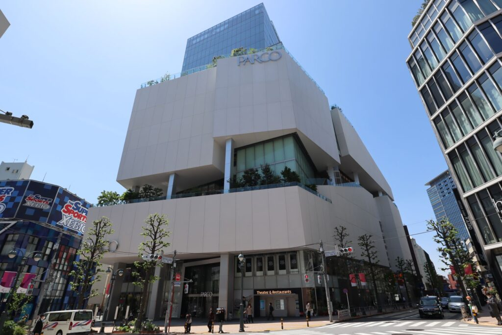 渋谷PARCO外観