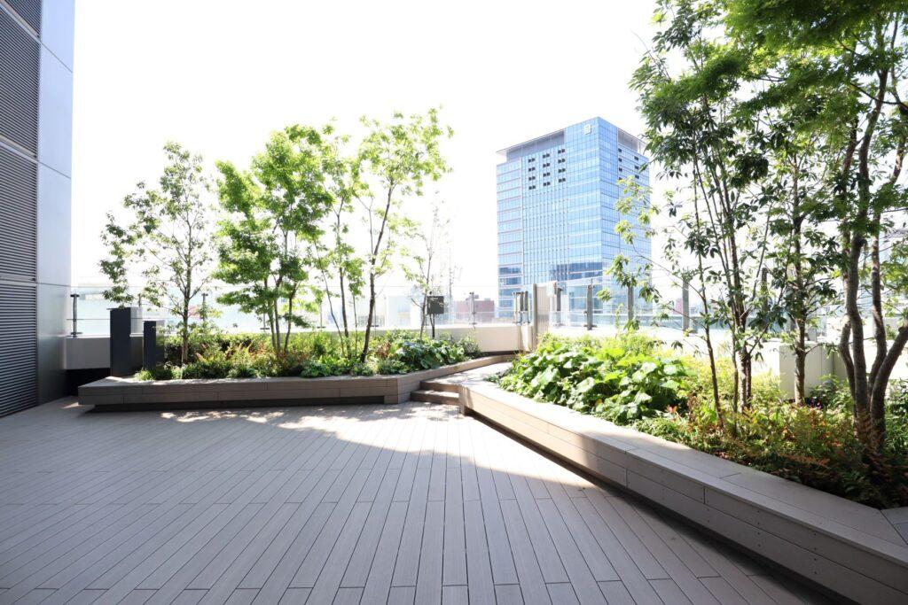渋谷PARCO8階屋外広場