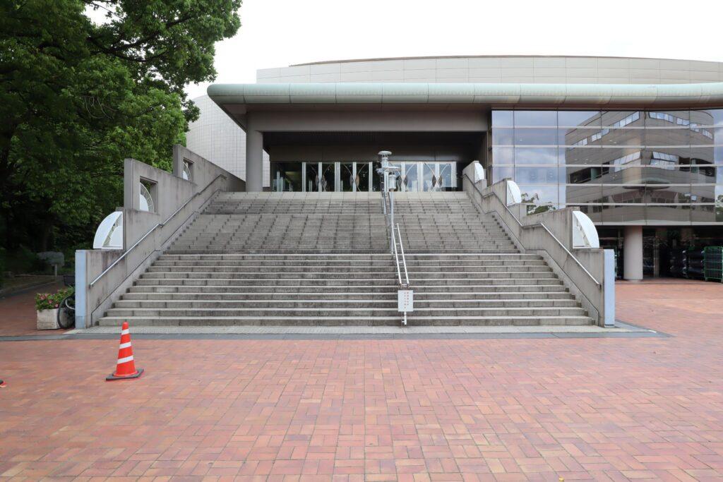 川崎市とどろきアリーナ外観