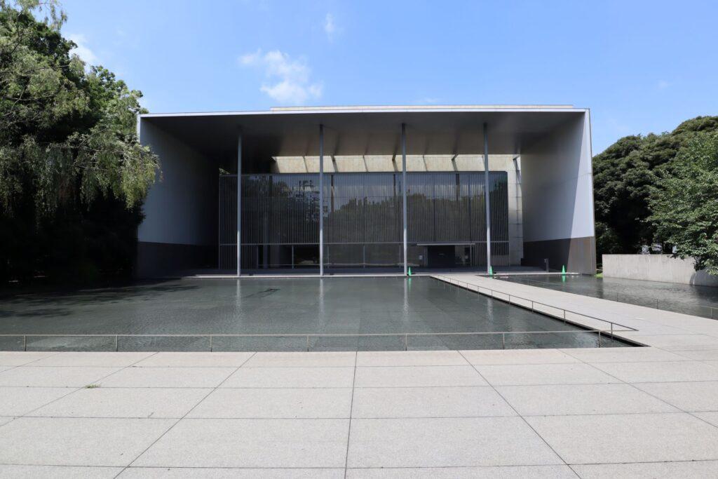 東京国立博物館の法隆寺宝物館外観