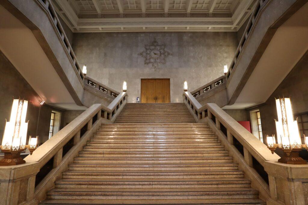 東京国立博物館本館の大階段