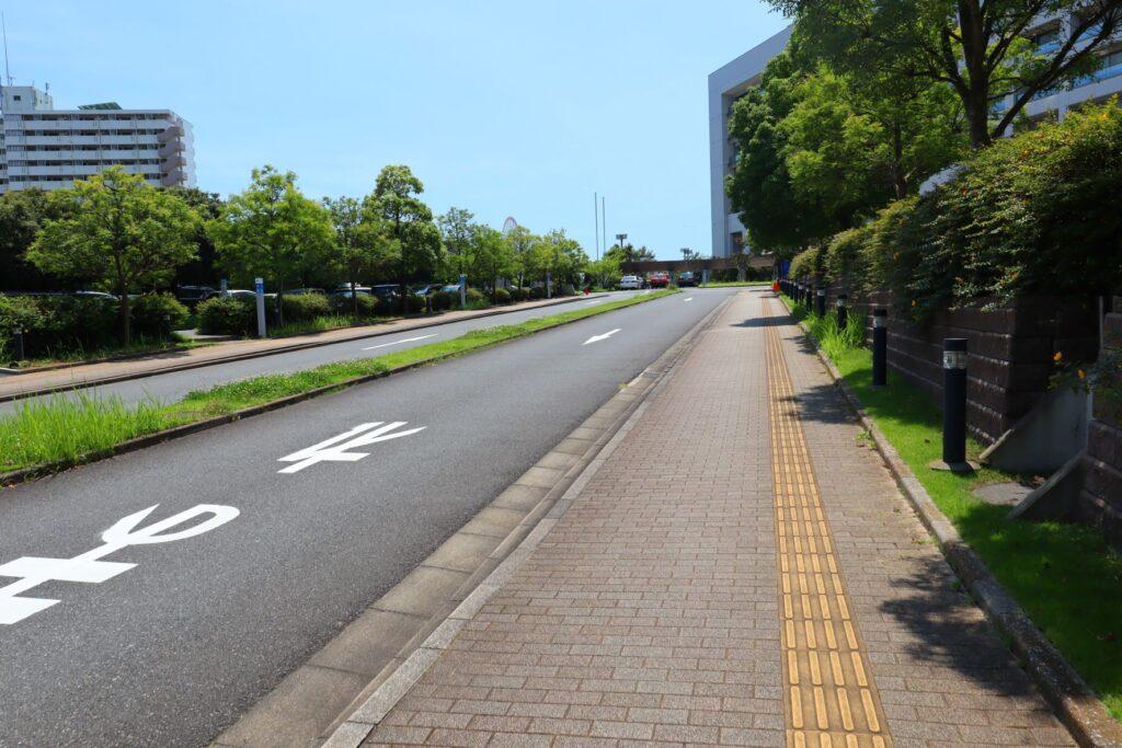 東京臨海病院入口