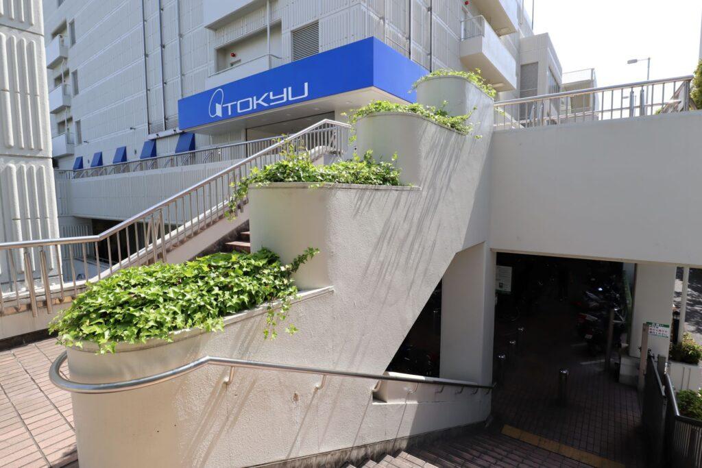 東急百貨店たまプラーザ店2階ガーデンデッキ