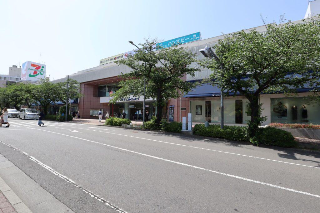 東急百貨店たまプラーザ店外観