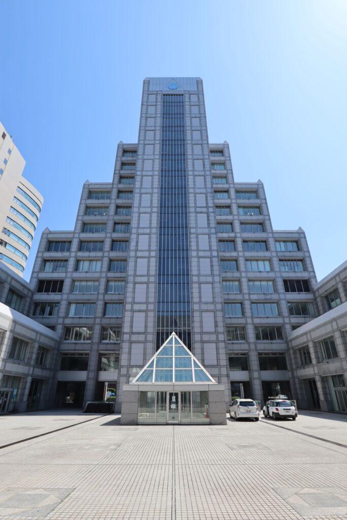 国際連合大学中庭
